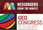 Messengers of the Mantle Exhibit at the GeoCongress 2018